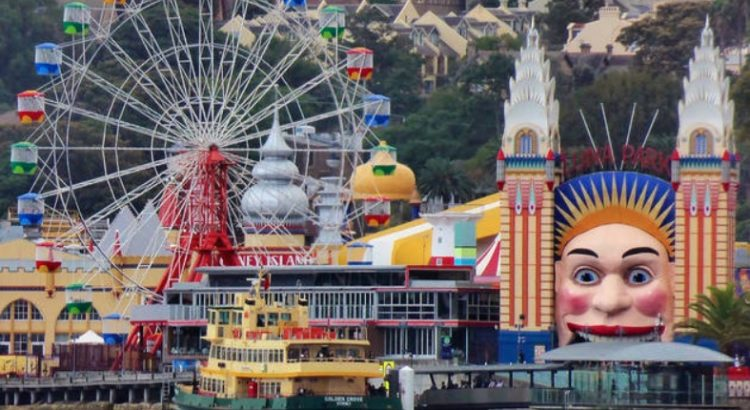 Luna Park in Milsons Point
